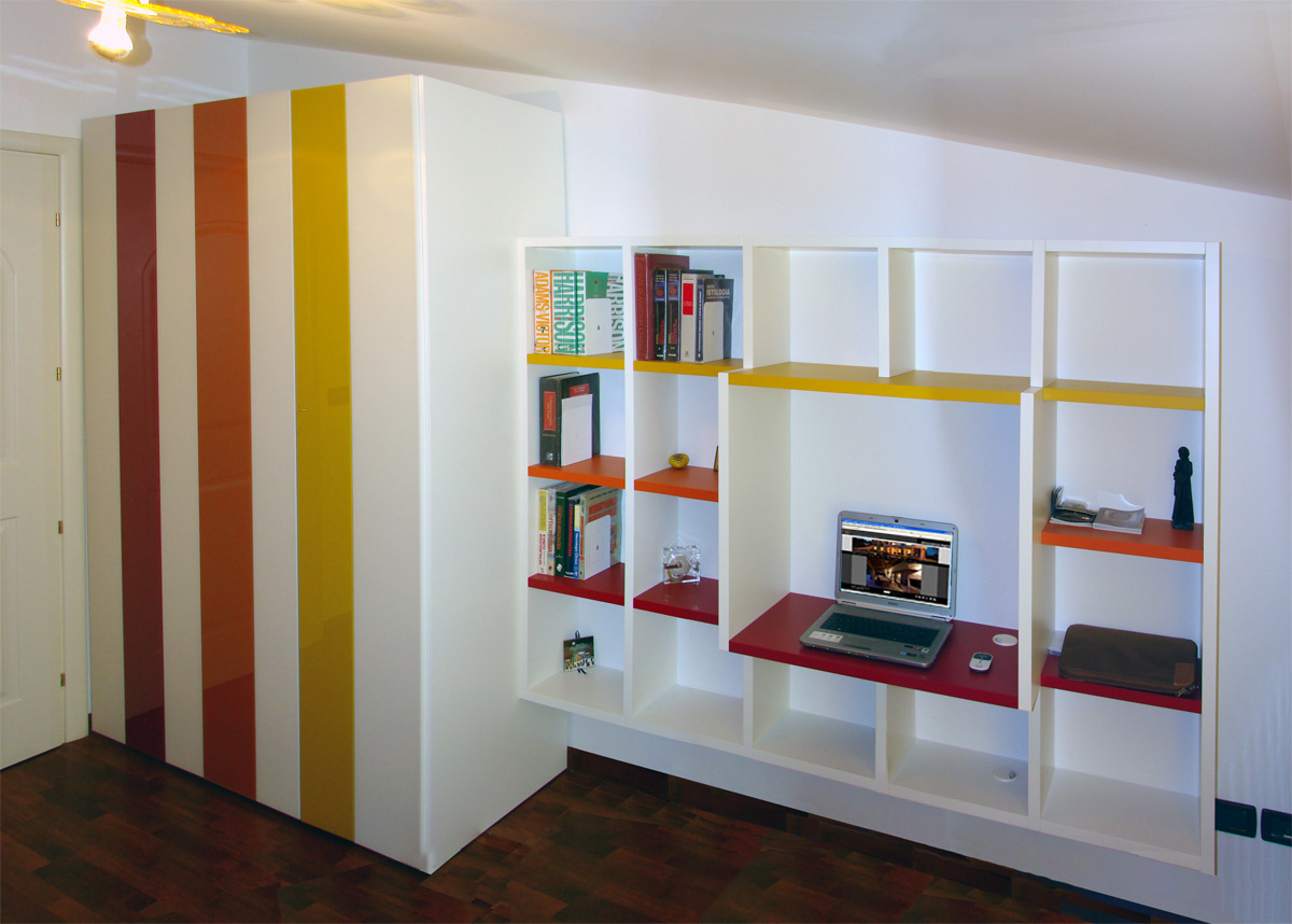dimensione legno a Chieti presenta una realizzazione con mobili LAGOil ...