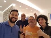 Giorgio, Carlo Divino e Raffaele