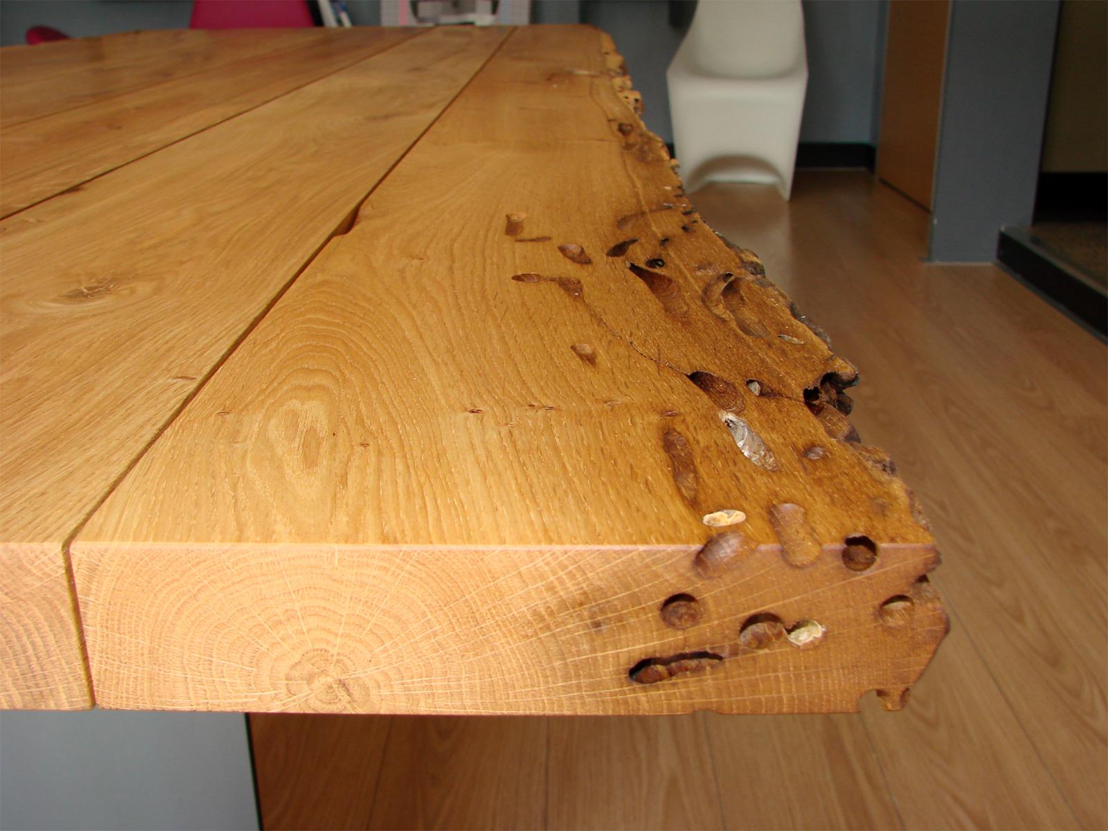 Tavolo legno di recupero fw61 regardsdefemmes - Mobili con legno di recupero ...